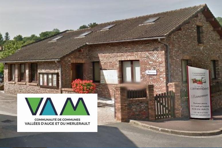 Communauté de Communes des Vallées d'Auge et du Merlerault (61)